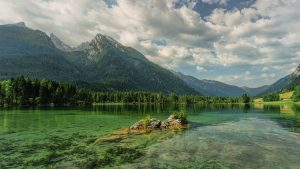 hintersee, bergsee, mountains